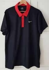 Nike Tennis Roger Federer Us Open Night Session 2009 Polo M top Zustand