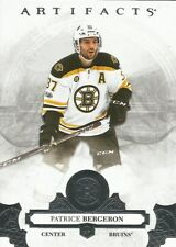 Patrice Bergeron #8 - 2017-18 Artifacts - Base