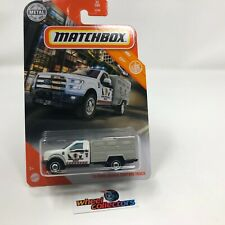 '10 Ford Animal Control Truck #32 * WHITE * 2020 Matchbox Case X