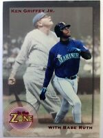 Promo: 1995 Megacards In the Zone Promotional Ken Griffey Jr Babe Ruth #1
