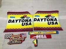 Sega Daytona USA Arcade Cabinet 1 Artsets Stickers Parts Reproduction