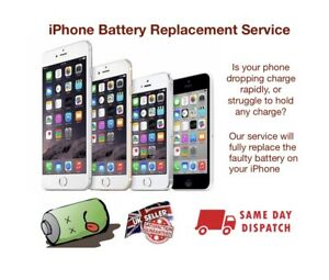 Iphone 7 Battery Replacement Service - Same day repair and return 📱✅