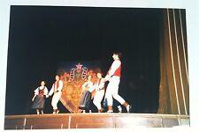 Vintage Photography PHOTO OLD WORLD GERMAN FOLK DANCERS ON STAGE BALLET SHOES
