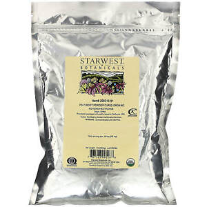 Starwest Botanicals, Organic, Fo-Ti Root Powder Cured , 1 lb (453.6 g)