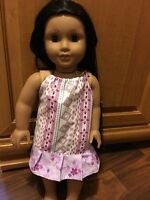 "Fits American 18"" Girl DOll CLothes HandmadePillowcase Dress Night Gown"