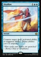 MtG x1 Disallow Aether Revolt - Magic the Gathering Card