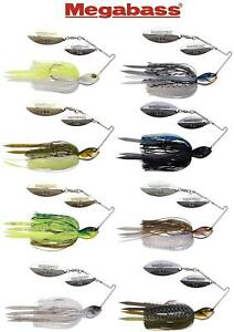 Megabass SV-3 1/2 oz. Double-Willow Blade Spinnerbait (Select Color)