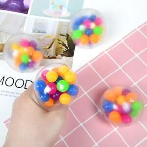 1Pc Squishy Sensory Stress Reliever Ball Toy Autism Squeeze Anxiety Fidget AU