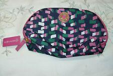 Estee Lauder Make-Up Bag Blue Pink Green White Brand New