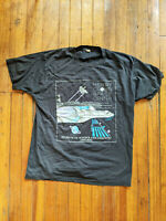Henry Crown Space Center - NASA - Vintage Shirt - Screen Stars - XL - Rare