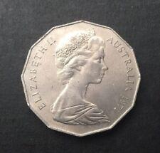 1971 AUSTRALIAN 50 CENT COIN ( EF )