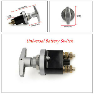 1500A Boat Car Truck Battery Isolator Disconnect Switch Power Kill Cut Off