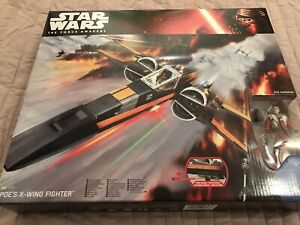 Star Wars: The Force Awakens: 'Poe's X-Wing Fighter' Vehicle: New & Boxed. Mint.