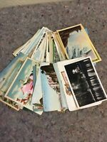Lot Of Assorted Postcards- Ice Mix-Antique And Vintage-Lot A
