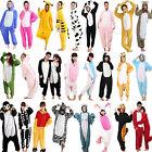 Unisex Adults Pajamas Onesies Kigurumi Animal Costume Cosplay Sleepwear Pyjamas