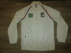 French Open Tennis 2020 FILA White Jacket XS X-small