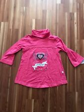 toff togs NEU langarm Shirt pink Straß traumhaft   Shirt Rolli   Gr. 98
