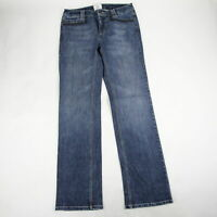 White House Black Market Women's Blanc Jeans Size 4 Bootcut Mid Rise Stretch