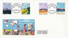 9 MARCH 1983 COMMONWEALTH DAY PHILART FIRST DAY COVER BETTER RCS LONDON WC2 SHS