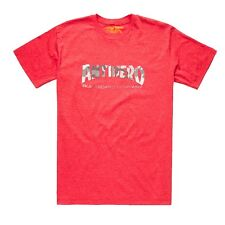 Anti Hero Skateboard Company Skateboard T Shirt Heather Red/Camo Large