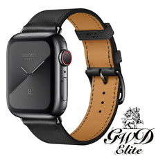 New Apple Watch Hermès Hermes Series 5 40mm Space Black Noir Single Tour LTE GPS
