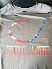 Reel Life Long Sleeve Shirt Size Large
