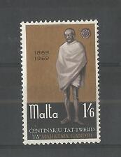 MALTA 1969 MAHATMA GANDHI SG,415 UM/M NH LOT 2392A