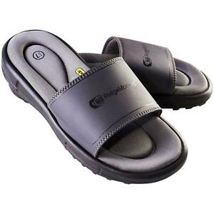RidgeMonkey APEarel Dropback Sliders Grey
