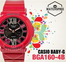 Casio Baby-G Ladies Red Metallic Dial Multi-Function Watch BGA160-4B