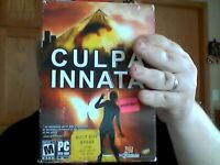 Culpa Innata (PC, 2007) BRAND NEW FACTORY SEAL free shipping