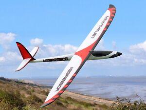 Max Thrust Aggressor SPORT Glider PNP Inc Brushless Motor, Speedcontrol, Servos