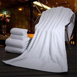 400-1000g Soft Absorbent Pure Cotton Bath Towels 70x140cm / 80x180cm / 200x100cm