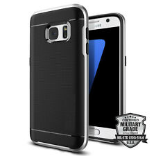 SAMSUNG S7 STEALTH SILVER NEO HYBRID SHOCK PHONE CASE LIKE SPIGEN LIFEPROOF
