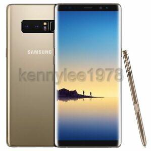 Samsung Galaxy Note 8 64GB N950 GSM Unlocked Smartphone Black Purple Gold Blue