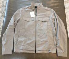 NWT Theory Terrial Bevan Waterproof Stretch Nylon Tech Rain Jacket Large $395