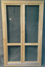 Holzbalkontür Balkontür Europrofil Kiefer,neu auf Lager 120x200 cm aus Bayern
