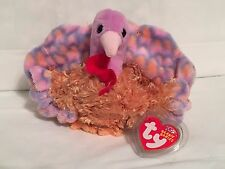 TY Beanie Baby - TOMMY the Turkey - Pristine with Mint Tags - RETIRED