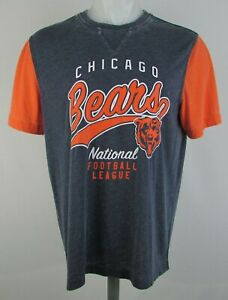 Chicago Bears NFL Starter Men's Distressed Graphic T-Shirt