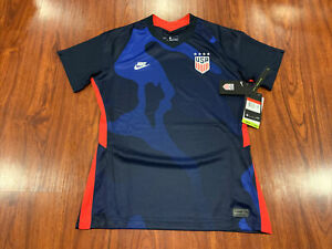 2020-21 Nike Women's United States Away Soccer Jersey Large L USA US USWNT