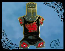 Monty Python Holy Grail metal and enamel funny Pin Badge Pins the Black Knight.