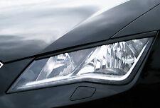 Ingo Noak Scheinwerferblenden Böser Blick aus ABS für Seat Leon 3, 5F SC FR