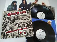 """Motley Crue Decade of Decadence German Edition 2 x LP Vinilo 12"""" Poster VG+/VG+"""