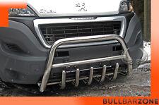 FIAT DUCATO 2014+ TUBO PROTEZIONE MEDIUM BULL BAR INOX STAINLESS STEEL