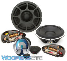 "MOREL ELATE TITANIUM 903 8.75"" 200W RMS 3WAY COMPONENT SPEAKERS TWEETERS X-OVERS"