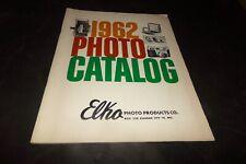 Vintage Elko Photo Products Catalog 1962 Polaroid Movie Camera Slide Projectors