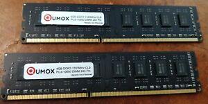 QUMOX KIT 8 Go (2X 4 Go) PC3-10600 DDR3 1333 (240 PIN) DIMM MÉMOIRE