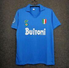 Napoli 87/88 Retro MARADONA soccer jersey Football shirt vintage #10