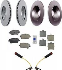 Mercedes W203 C230 with Brake Pads and Sensors Disc Brake Rotor Kit Meyle / Bowa