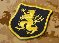 NSWDG Navy SEAL Team 6 DEVGRU Lion Gold Squadron Blue & Yellow Patch ST6 ZD30