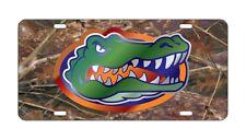 FLORIDA Gators CAMO Mirrored License Plate / Car Tag